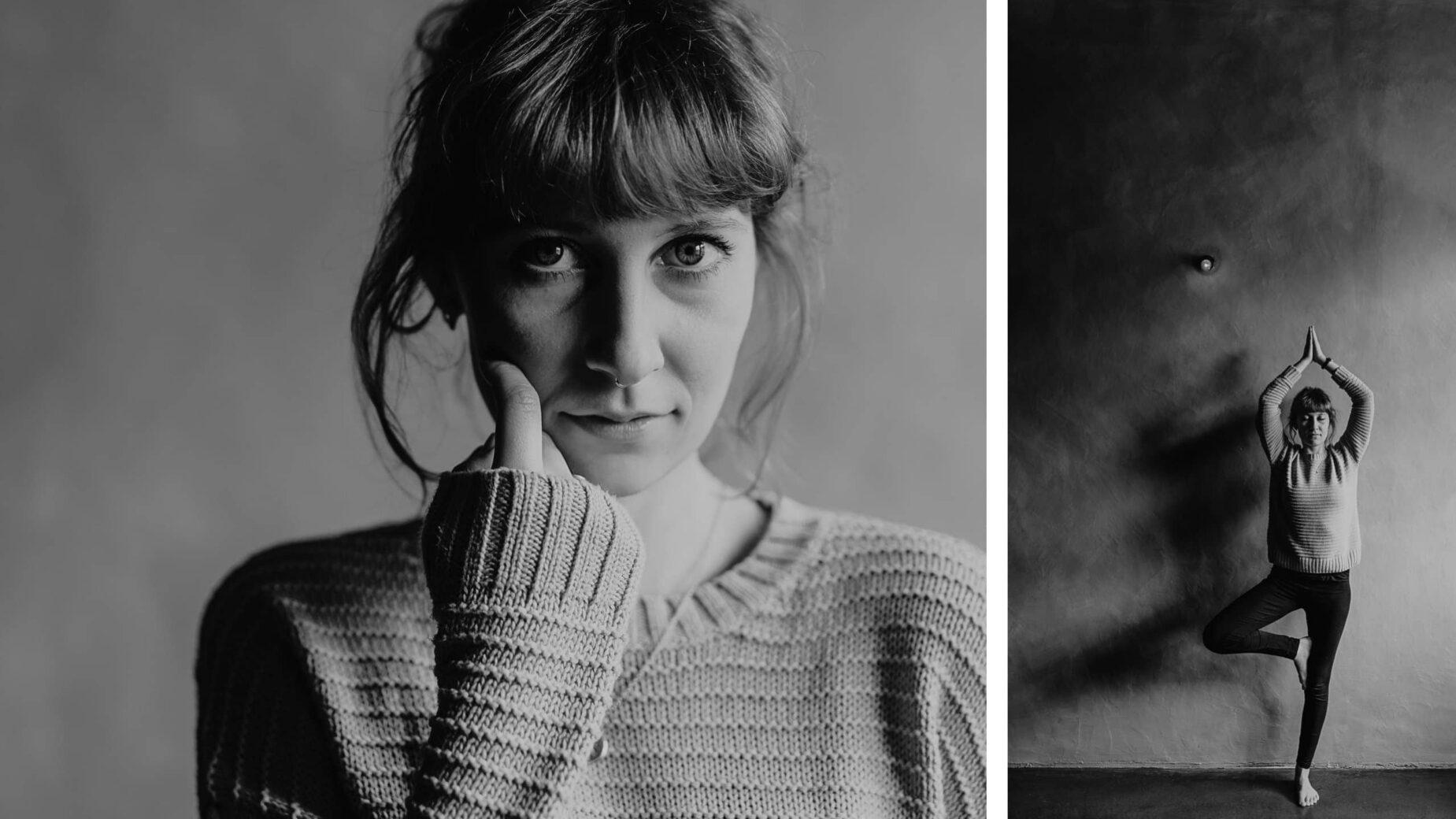 Schlichte und starke Portraitfotos in altem Adelssitz von Jung und Wild design