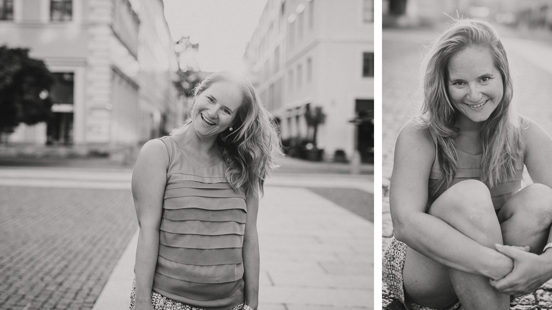 Urbane Abendsonne Portraits im Sommer von Jung und Wild design