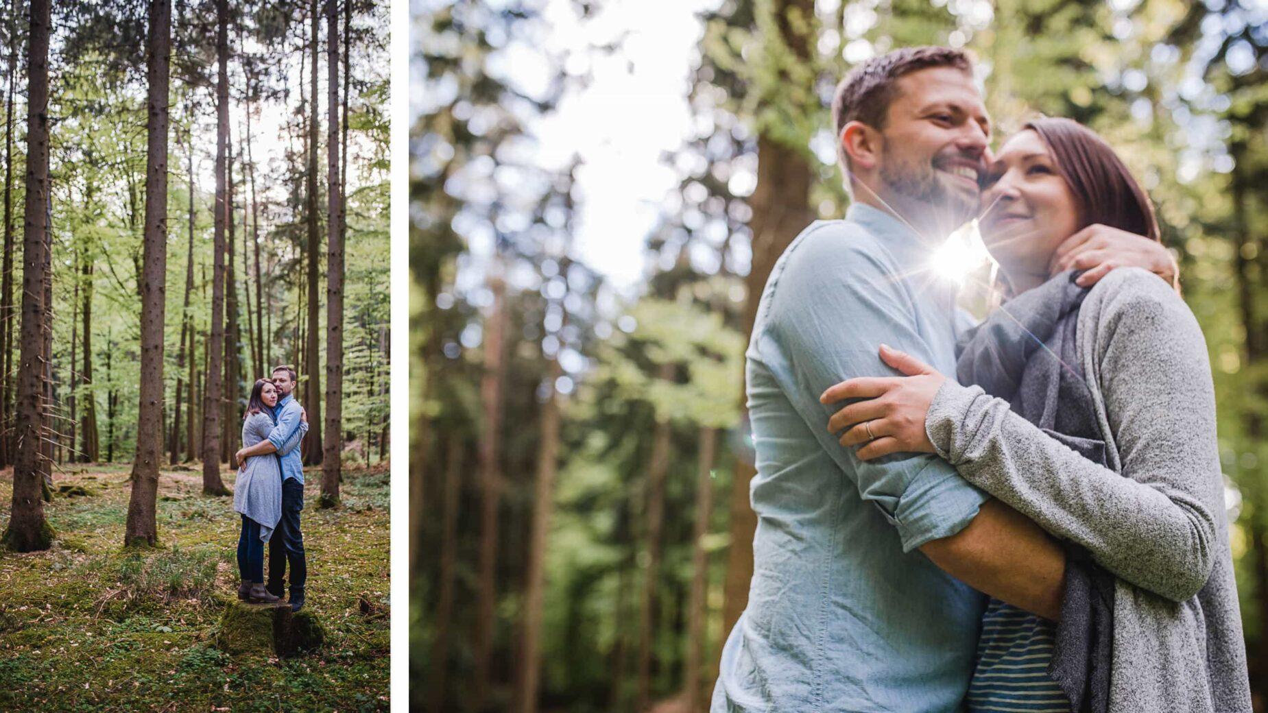 Engagementfotos in der Natur, Paarfotos vor der Hochzeit, Pärchenshooting im Großraum München, Pfaffenhofen, Ingolstadt