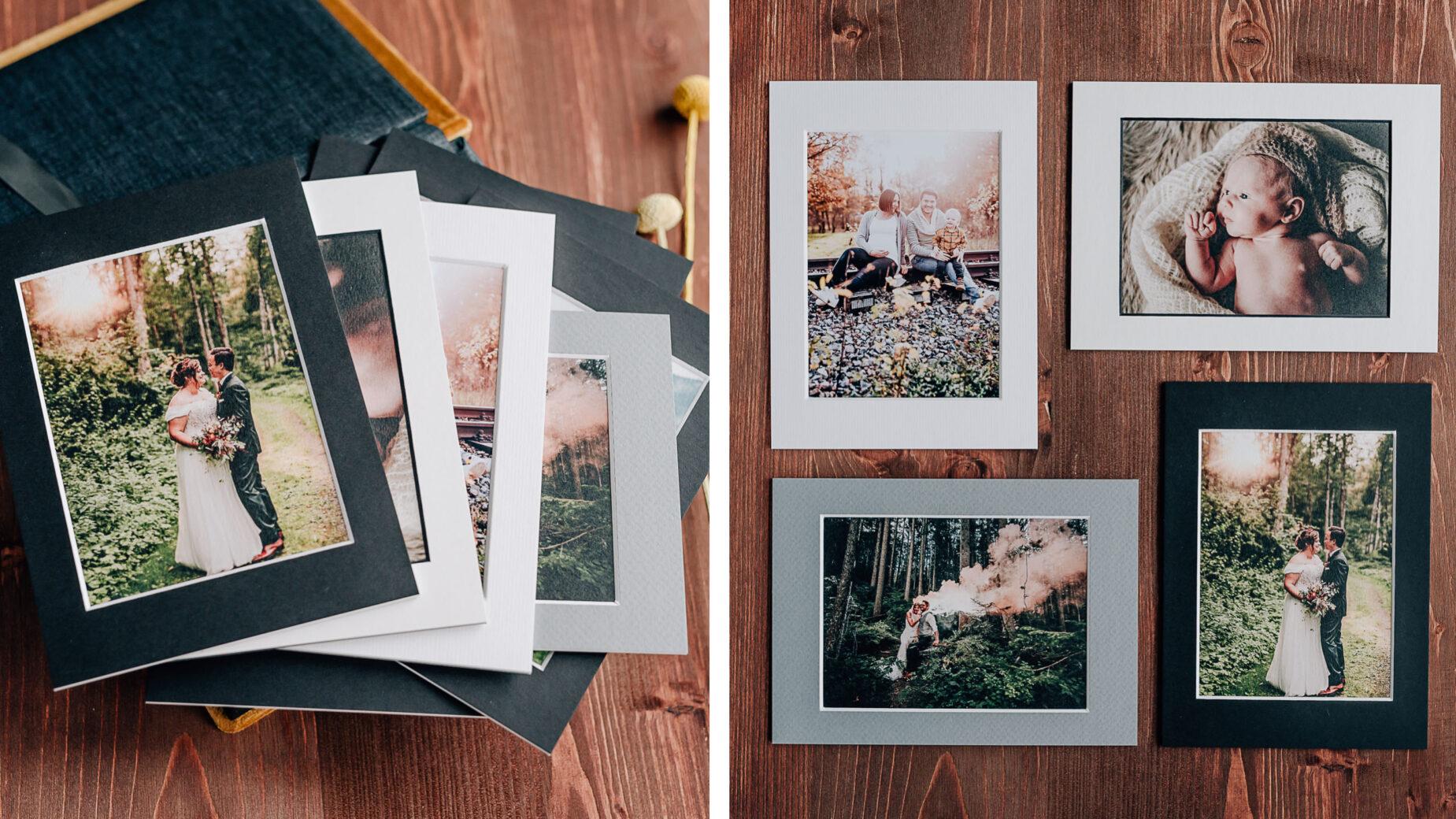 Mica Zeitz Hochzeitsfotografin - hochwertige Printprodukte und Hochzeitsbücher - Passepartoutbox mit individuellem Cover